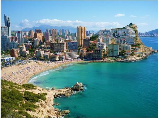 Tepi Pantai Spanyol